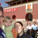 Place Tiananmen - Nous... et Mao
